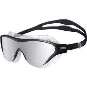 arena The One Mask Mirror Goggles, silver/black/black